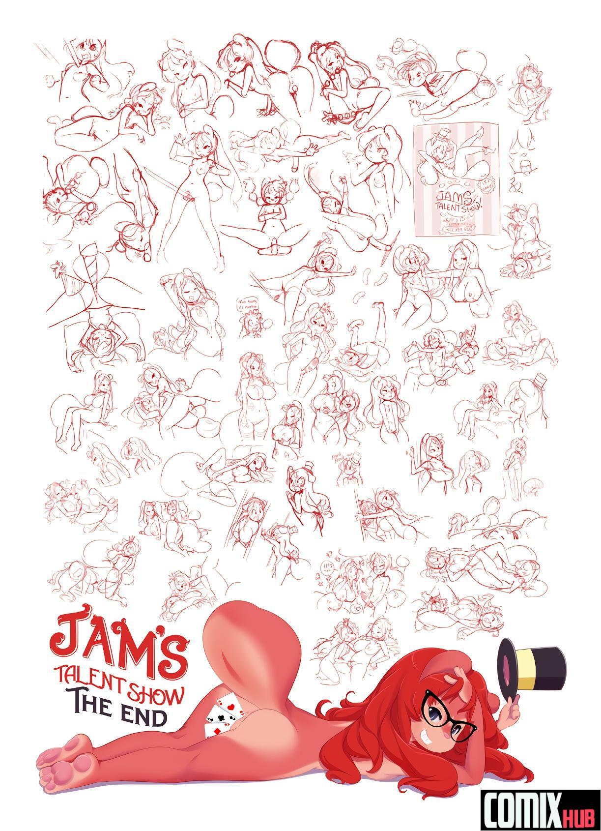 Porn comics, Jam's Talent Show Oral sex, Anal Sex, Big Tits, Comedy, fingering, Furry, Lesbians, Masturbation, Sex Toys, Stockings