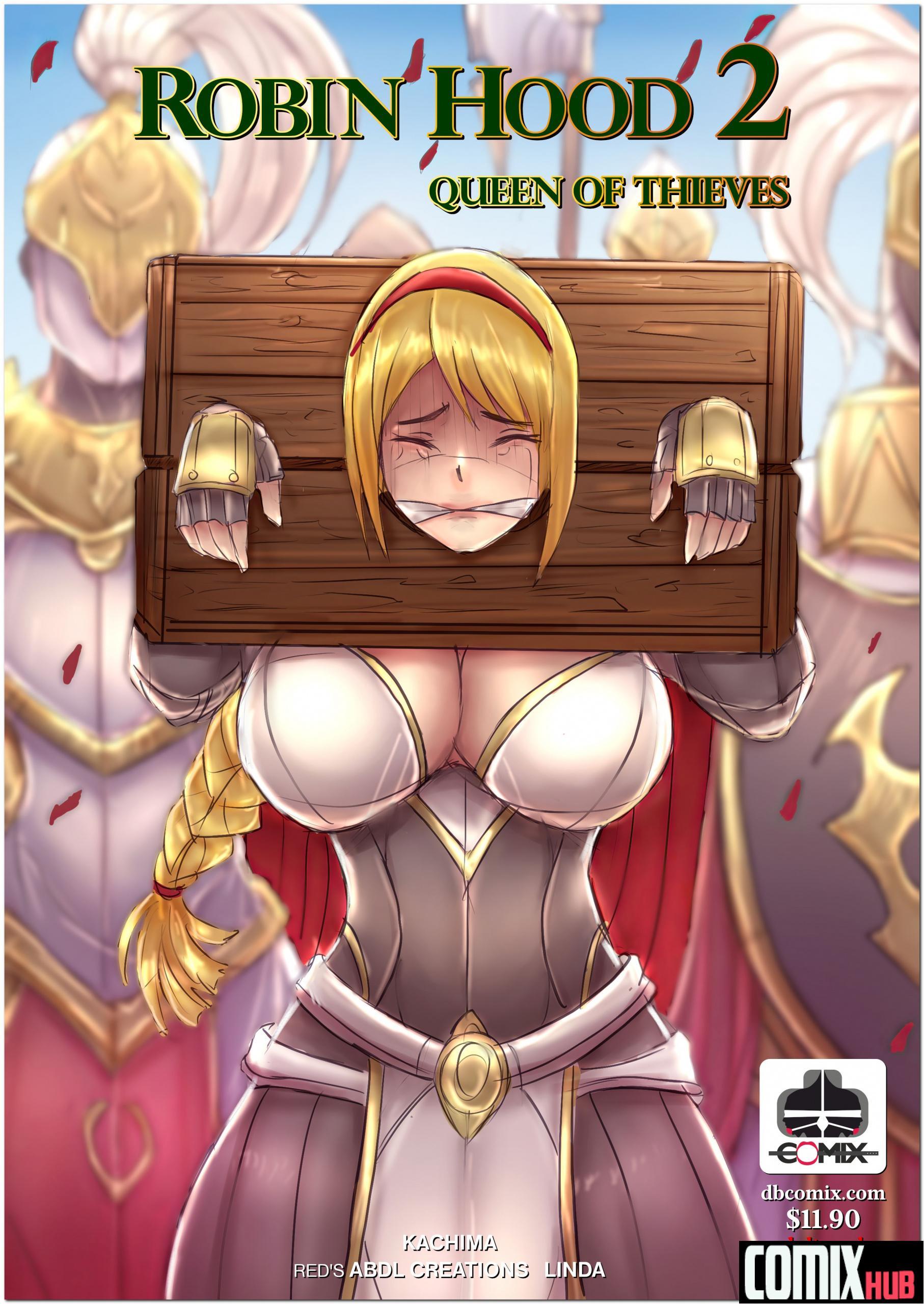Porn comics, Robin Hood the Queen of Thieves 2 BDSM, Big Tits, Bondage, Fantasy, Rape, Sex Toys, Stockings, Straight