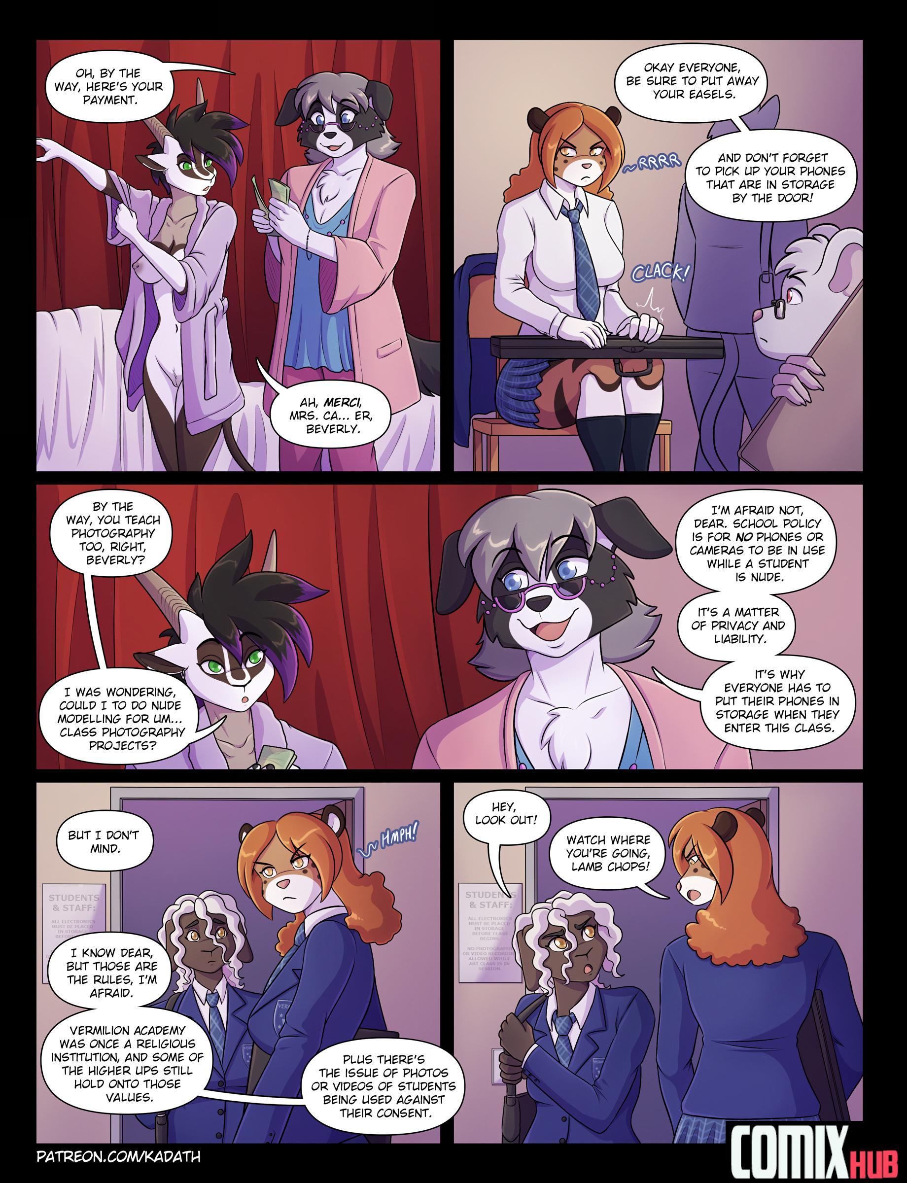 Porn Comics, The Pleasure Principle 2 Furry